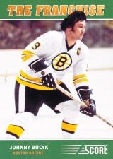 Hokejové karty SCORE 2012-13 - The Franchise - Johnny Bucyk - OS1