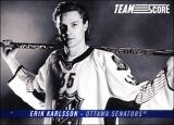 Hokejové karty SCORE 2012-13 - Team Score - Erik Karlsson - TS4