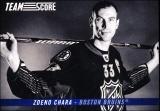 Hokejové karty SCORE 2012-13 - Team Score - Zdeno Chára - TS5