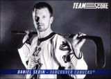 Hokejové karty SCORE 2012-13 - Team Score - Daniel Sedin - TS7