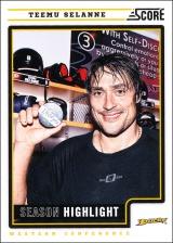 Hokejové karty SCORE 2012-13 - Teemu Selanne - 18