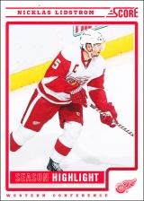 Hokejové karty SCORE 2012-13 - Nicklas Lidstrom - 33
