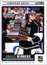 Hokejové karty SCORE 2012-13 - Jonathan Quick - 500