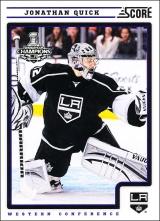 Hokejové karty SCORE 2012-13 - Jonathan Quick - 224