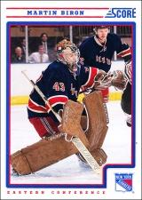 Hokejové karty SCORE 2012-13 - Martin Biron - 325