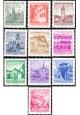 Rakousko - čistá - č. 1111-1120
