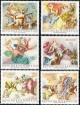 Rakousko - čistá - č. 1278-1283