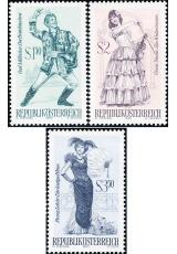 Rakousko - čistá - č. 1331-1333