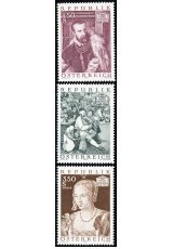 Rakousko - čistá - č. 1360-1362