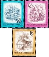 Rakousko - čistá - č. 1549-1551