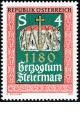 Rakousko - čistá - č. 1648