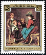 Rakousko - čistá - č. 1809