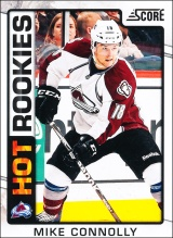 Hokejové karty SCORE 2012-13 - Rokkie - Mike Connolly - 506