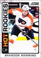 Hokejové karty SCORE 2012-13 - Rokkie - Brandon Manning - 519