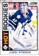 Hokejové karty SCORE 2012-13 - Rokkie - Jussi Rynnas - 524