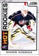 Hokejové karty SCORE 2012-13 - Rokkie - Shawn Hunwick - 525