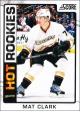Hokejové karty SCORE 2012-13 - Rokkie - Mat Clark - 529