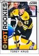 Hokejové karty SCORE 2012-13 - Rokkie - Torey Krug - 531
