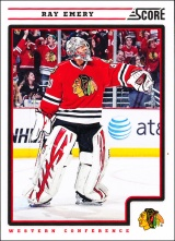 Hokejové karty SCORE 2012-13 - Ray Emery - 129