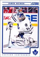 Hokejové karty SCORE 2012-13 - James Reimer - 439