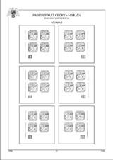 Protektorát, desková čísla - přetisky a hrady (31 listů) - vč. zesílených obalů