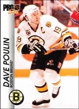 Hokejové karty Pro Set 1992-93 - Dave Poulin - 9