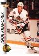 Hokejové karty Pro Set 1992-93 - Igor Kravchuk - 35