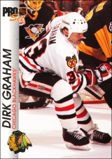 Hokejové karty Pro Set 1992-93 - Dirk Graham - 38