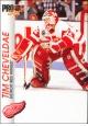 Hokejové karty Pro Set 1992-93 - Tim Cheveldae - 43