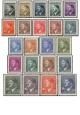 Protektorát - A. Hitler - výplatní známky - č. 78-99 - čistý