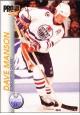 Hokejov� karty Pro Set 1992-93 - Dave Manson - 55