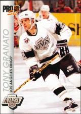 Hokejové karty Pro Set 1992-93 - Tony Granato - 74
