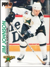 Hokejové karty Pro Set 1992-93 - Jim Johnson - 83