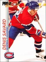 Hokejové karty Pro Set 1992-93 - Denis Savard - 84