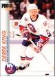 Hokejov� karty Pro Set 1992-93 - Derek King - 110