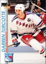 Hokejové karty Pro Set 1992-93 - Darren Turcotte - 114
