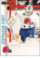 Hokejov� karty Pro Set 1992-93 - Stephane Fiset - 152