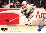 Hokejové karty Pro Set 1992-93 - Gart Butcher - 160