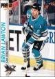 Hokejové karty Pro Set 1992-93 - Brian Lawton - 173