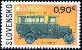 EUROPA 2013: Poštové vozidlo - Slovensko č. 538