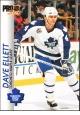 Hokejové karty Pro Set 1992-93 - Dave Ellett - 186