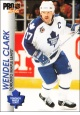 Hokejové karty Pro Set 1992-93 - Wendel Clark - 189