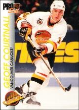 Hokejové karty Pro Set 1992-93 - Geoff Courtnall - 198