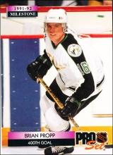 Hokejové karty Pro Set 1992-93 - Brian Propp - 257