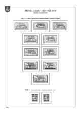 Memelgebiet 1920-1925, 1939; A4, papír 160 g (16 listů)  - bez obalů