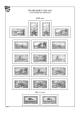 Saargebiet 1920-1935, A4, papír 160 g (18 listů)  - bez obalů