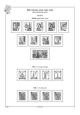 Francouzská zóna 1945-1949, A4, papír 160 g (19 listů)  - bez obalů