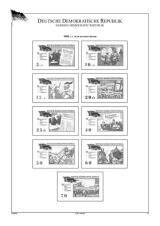 Německá demokratická republika (DDR) 1964-1971, A4, papír 160 g (77 listů)  - bez obalů