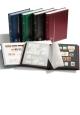 Zásobník na známky Leuchtturm - COMFORT S32 - A4 - 32 stran - černé listy