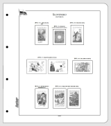 Albové listy CONTOUR-S  Slovensko 2013, nezasklené (19 listů), papír 250gr.
